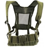ACM D119 HARNESS AND MOLLE BELT COMBO - OLIVE DRAB