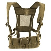ACM D119 HARNESS AND MOLLE BELT COMBO - DARK EARTH