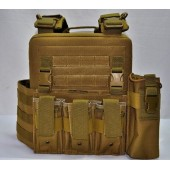 ACM RPC PLATE CARRIER - TAN