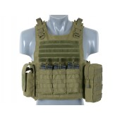 8FIELDS LIGHTWEIGHT AAV FSBE ASSAULT VEST SYSTEM V2 - OLIVE DRAB