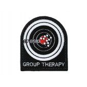 WAVECOMBAT GROUP THERAPY EMBROIDERED PATCH
