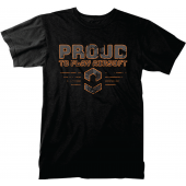 CV T-SHIRT PROUD BLACK