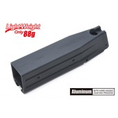GUARDER ALUMINUM MAGAZINE CASE FOR MARUI HI-CAPA 5.1 - (NO MARKING/BLACK)