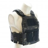 TEMPLAR'S GEAR CPC LP PLATE CARRIER (LARGE) - MULTICAM BLACK