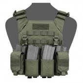 WARRIOR RECON PLATE CARRIER WITH PATHFINDER CHEST RIG COMBO (MEDIUM) - OLIVE DRAB