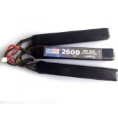 BLUEMAX LIPO BATTERY 11.1V 2600 mAh 20C NUNCHUCK