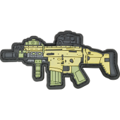 BARBARIC PATCH SCAR-H