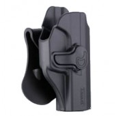 AMOMAX AM-99 G2 TACTICAL HOLSTER - WALTHER P99 QA - BLACK