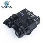 WASDN DBAL-A2 AIMING DEVICE (RED & IR LASER) - BLACK