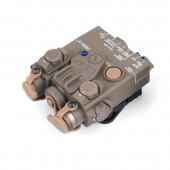 WASDN DBAL-A2 AIMING DEVICE (RED & IR LASER) - DARK EARTH