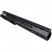 JS-TACTICAL M4 SLIM KEYMOD HANDGUARD 15 INCH - BLACK