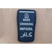 "GFT PATCH ""BEER DRINKING INFIDEL"" - BLACK"