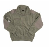 MIL-TEC COLD WEATHER FLEECE JACKET - FOLIAGE GREEN