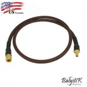 BALYSTIK DELUXE REMOTE LINE FOR HPA REGULATOR US - DEEP COFFEE