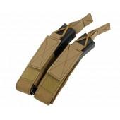 8FIELDS BOLSA CARREGADORES DUPLA MP5/MP7/MP9 COYOTE