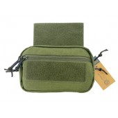 CONQUER DROP DOWN UTILITY POUCH - OLIVE DRAB