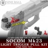 NINE BALL MK23 SOCOM LIGHT TRIGGER PULL KIT (VALVE INCLUDED)