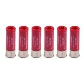 WOSPORT PACK 6 SHELLS 16 BBs FOR SHOTGUN - RED