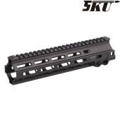 "5KU M4 HANDGUARD RAIL GEI. STYLE MK8 9.5"" - BLACK"