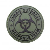 PITCHFORK SYSTEMS ZOMBIE OUTBREAK PATCH - OLIVE DRAB