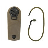 8FIELDS 2.5L HYDRATION RESERVOIR BLADDER WITH BITE VALVE - OLIVE