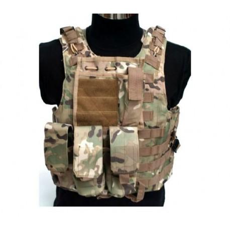 ACM COLETE TACTICO AAV FSBE MULTICAM - Combate Virtual - Loja de Airsoft 2839081f3860c