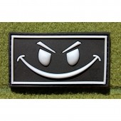 JTG EVIL SMILEY PATCH SWAT 3D RUBBER