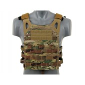 EMERSON LIGHTWEIGHT JUMP PLATE CARRIER WITH DUMMY SAPI PLATES - MULTICAMO