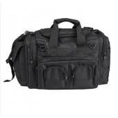 MILTEC BLACK K-10 COMBAT BAG 35X25X10CM