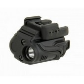 ACM LED WEAPON LIGHT WITH 3 LIGHT MODES AND UNIVERSAL RAIL