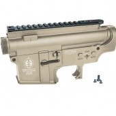 ICS MA-227 M4 PLASTIC UPPER & LOWER RECEIVER SET TAN