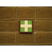 JTG - REDCROSS MEDIC PATCH 25MM MULTICAM 3D RUBBER