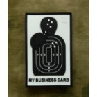 JTG BUSINESS CARD PATCH 3D RUBBER