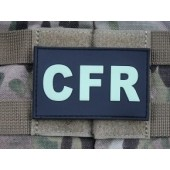 JTG - CFR - COMBAT FIRST RESPONDER PATCH GID(glow in the dark) 3D RUBBER