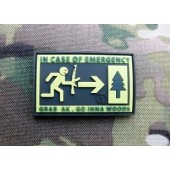 JTG EMERGENCY PATCH FULLCOLOR 3D RUBBER