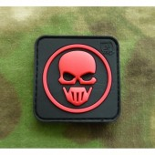 JTG GHOST RECON PATCH BLACKMEDIC 3D RUBBER