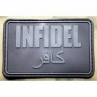 JTG INFIDEL PATCH LARGE BLACKOPS 3D RUBBER