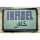 JTG INFIDEL PATCH LARGE FOREST 3D RUBBER