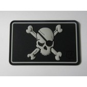 JTG PIRATE SKULL PATCH SWAT 3D RUBBER