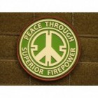 JTG PEACE PATCH MULTICAM 3D RUBBER