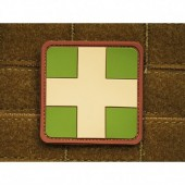 JTG REDCROSS MEDIC PATCH MULTICAM 3D RUBBER