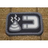 JTG SHITMAGNET PATCH GID(glow in the dark) 3D RUBBER