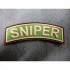 JTG SNIPER TAB PATCH MULTICAM 3D RUBBER