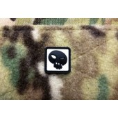 JTG TF SKULL PATCH SNOW 3D RUBBER