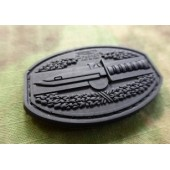JTG COMBATACTION PATCH BLACK 3D RUBBER