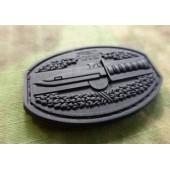 JTG COMBATACTION PATCH BLACK 3D RUBBER
