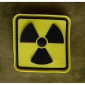 JTG H3 RADIOACTIVE PATCH FULLCOLOR 3D RUBBER