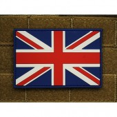 JTG UK FLAG PATCH FULLCOLOR 3D RUBBER