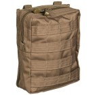 MILTEC DARK COYOTE MOLLE BELT POUCH LARGE
