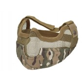 ACM V2 STRIKE METAL MESH HALF FACE MASK MULTICAM